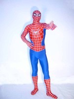 New Style Red And Blue Spiderman Costume
