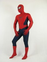 New Blue And Red SpiderMan Lycra Spandex SpiderMan Costume