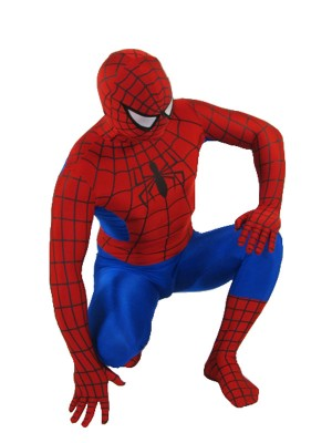 Red And Blue Spiderman Costume Classic  Spiderman Costume