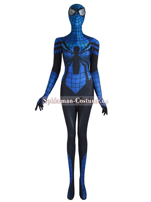 sc 1 st  Spiderman costume & Spider-Girl Costume Mayday Parker Blue Black Spider Suit