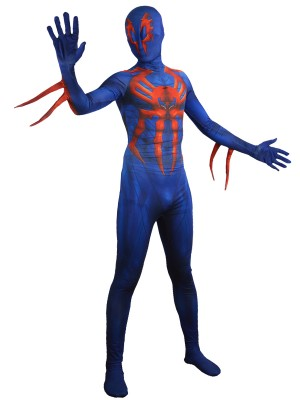 Spider-man 2099 Suit Halloween Spiderman Costume
