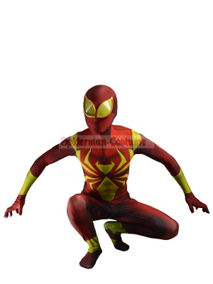 Iron Spider Man Armor Halloween Costume